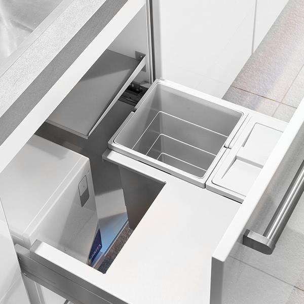 Abfalltrennsystem für Frontauszüge für yource pro select